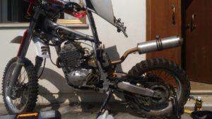 Yamaha TTR 600 Smontata