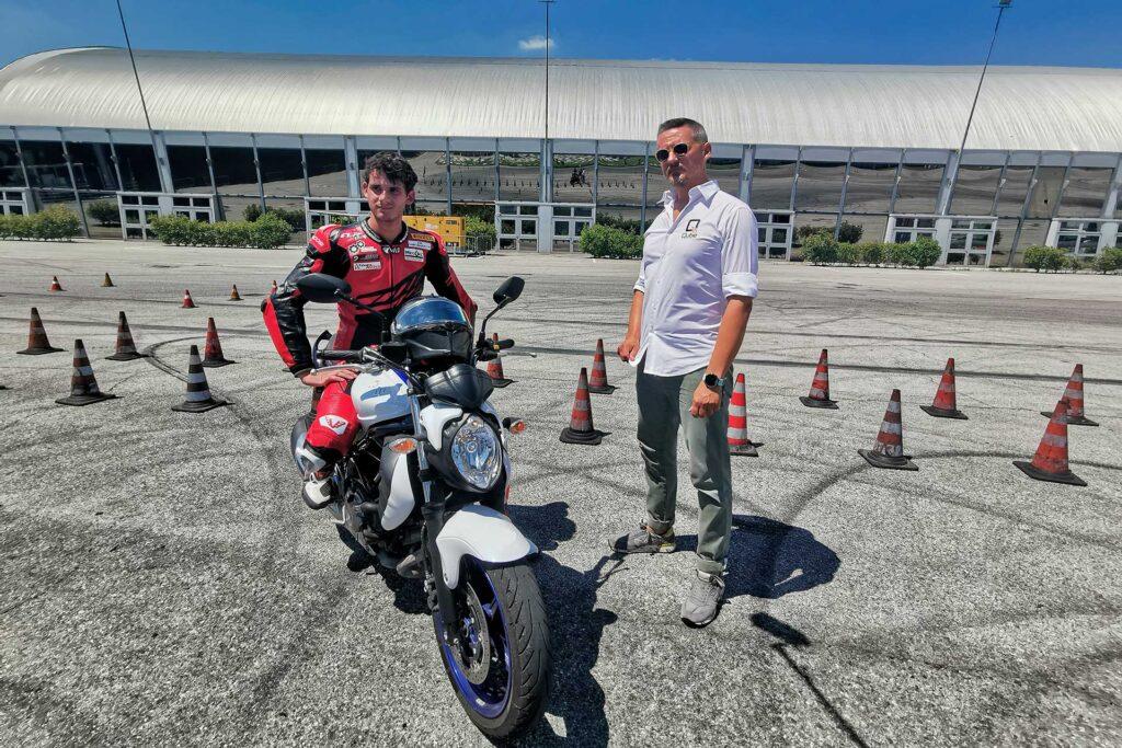 Esame patente Roberto Cremona e Manuel Nardin