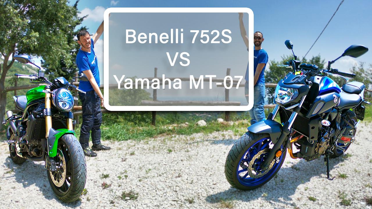 Benelli 752S vs Yamaha MT-07 | Attacco alla regina